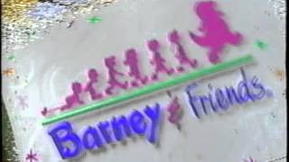 Opening To Barney's All Aboard For Sharing 1996 VHS
