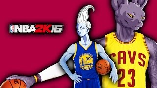 Beerus and Whis Play NBA2K! (DBZ Parody)