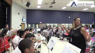 FAMILY OF SCHOOL ARTS NIGHT | LINCOLN M. ALEANDER - CONCERT BAND MASHUP