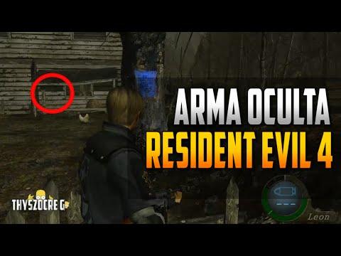 Arma Oculta Resident Evil 4 Xbox 360
