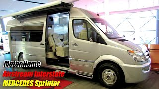 2014 Mercedes-Benz Sprinter - Airstream Interstate Motor Home - Exterior, Interior Walkaround