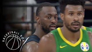 [FIBA World Cup 2019] USA vs Brazil, Group Phase Round 2 Full Game Highlights, September 9, 2019