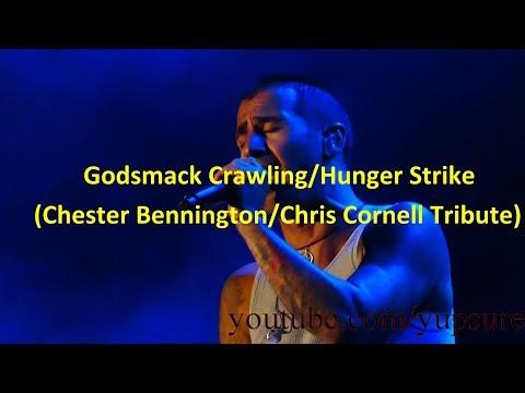 Godsmack CrawlingHunger Strike (Chester BenningtonChris Cornell Tribute) Sands Steel Stage