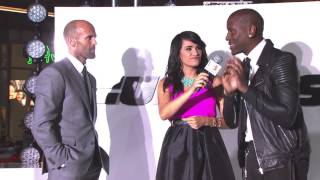 Furious 7 Premiere Interviews - Jordana Brewster, Jason Statham, Tyrese Gibson - Fast & Furious 7