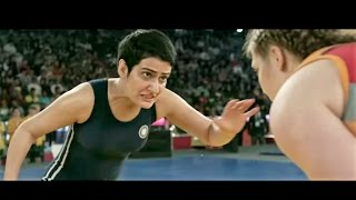 Dangal movie real final fight scene  geetha poghat  common wealth games-2010 gold medal match