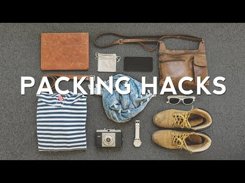 27 Travel PACKING HACKS How to Pack Better