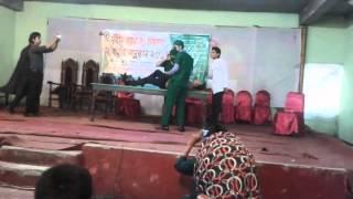Physio Ruhul kuddus performance at Rajshahi