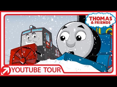 Thomas Meets Marshall in the Canadian Rockies | YouTube World Tour | Thomas & Friends