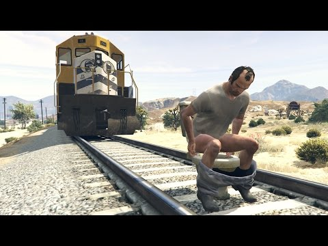 Xxx Mp4 HOW TO STOP THE TRAIN IN GTA 5 100 WORKING TUTORIAL 3gp Sex