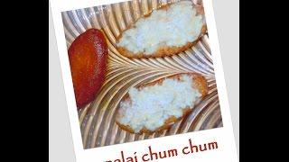 Bengali Malai Chum Chum recipe (episode 45) by ruptushDiner