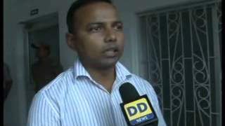 District Magistrate of Ganjam district Prem Chand on Hudhud cyclone
