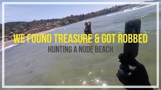 Metal Detecting Silver, Platinum,Old Coins & a Nude beach ?