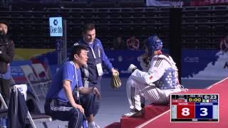 2014 WTF World Junior Championships Final | Male -68kg