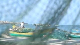 رحلة الصيد على بعد 6 أميال في بحر غزة