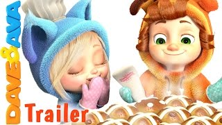 🥐 Hot Cross Buns - Trailer | Nursery Rhymes and Baby Songs from Dave and Ava 🥐