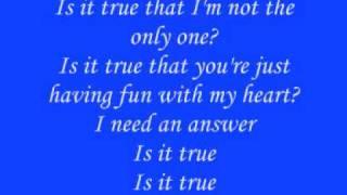 Dj Sammy We're in Heaven / Brandy True {Lyrics}