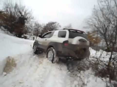 izusu vehicross   off road