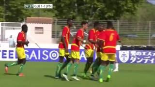 Guinea U23 1-2 Japan U23 Highlights  Toulon Youth Tournament
