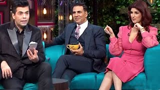 Twinkle Khanna's SHOCKING Comment On Akshay Kumar's Private Parts Size On Koffee With Karan Season 5