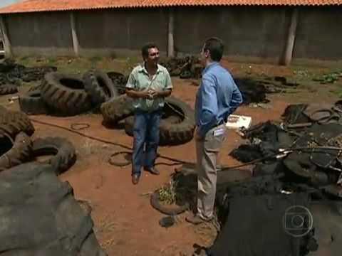 Reportagem Bom Dia Brasil Pneus na Construção