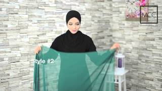 Tutorial Tudung - Tudung Clara Chiffon by MuslimahClothing.com