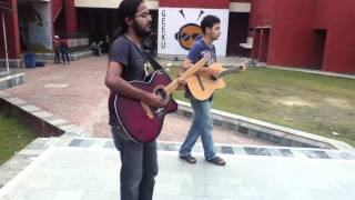 The Blues song: by BD and Sahai