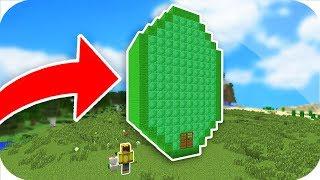 ZÜMRÜT'ÜN İÇİNDE YAŞAMAK! - Minecraft
