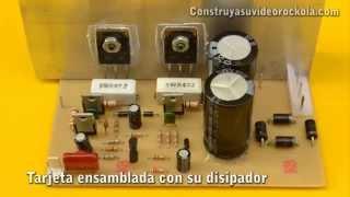 Amplificador de 100W con transistores PNP