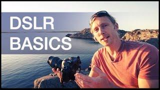 DSLR Camera Basics Tutorial: Shutter Speed / Aperature / ISO