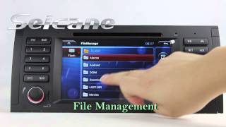 OEM Android 4.2 2000-2007 BMW X5 E53 3.0i Radio DVD GPS Navigation Audio Stereo with WIFI TV USB