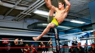 UFC on FOX 18: Sage Northcutt Workout Highlights