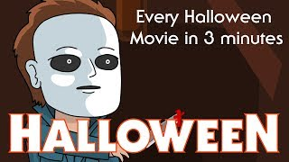 Every Halloween Movie in 3 Minutes! | Animation | ArcadeCloud