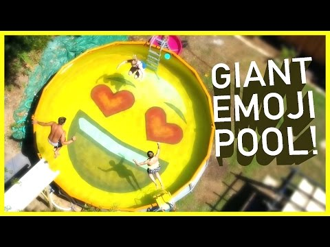 Xxx Mp4 😎DAD TURNS POOL INTO EMOJI 😍 3gp Sex