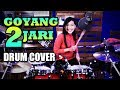 Download Lagu MP3 Sandrina - Goyang 2 Jari | Drum Cover by Nur Amira Syahira