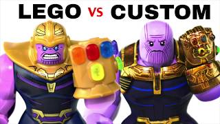 LEGO AVENGERS INFINITY WAR : Official Minifigs vs. Customs - EP1