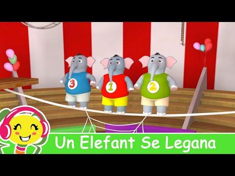 Un Elefant Se Legana Cantece Pentru Copii