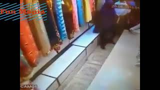 Woman theif caught and fuck by shopkeeper