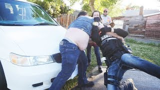 HE SLAMMED ME TO THE GROUND WHEN I TOWED HIS CAR!