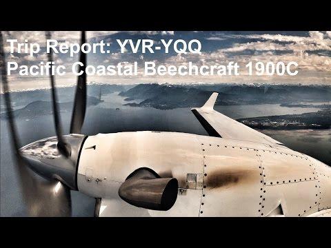 Trip Report: YVR Vancouver - YQQ Comox on Pacific Coastal Beechcraft 1900D
