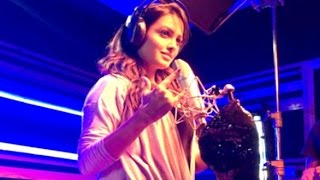 Anita Hassanandani Recording Song For FUDDU Movie!