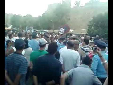 سكان أصيلة ينتفضون ضد مهرجان يوم 2 يوليوز 2011