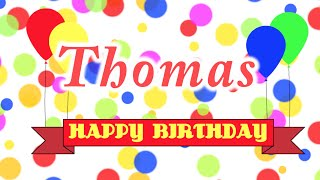 Happy Birthday Thomas Song