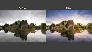 Stunning Photo Using Camera Raw Filter In Photoshop CC