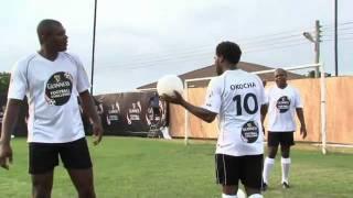 Jay Jay Okocha deflect ball skills