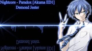 Nightcore - Paradox [Akuma ED1]
