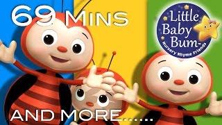 Ladybug Ladybug | Plus Lots More Nursery Rhymes | 69 Minutes Compilation from LittleBabyBum!