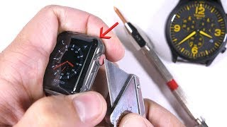 Scratching the $1300 dollar Apple Watch - is it really