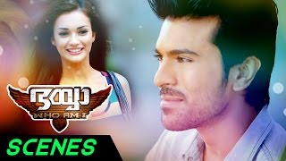 Bhaiyya My Brother Malayalam Movie Scenes | Ram Charan Confuses Ajay | Amy Jackson | DSP