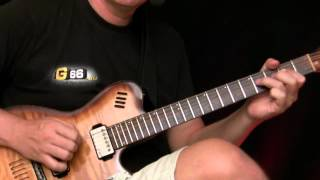 RockaBilly Guitar Lesson - Chuck Berry Style