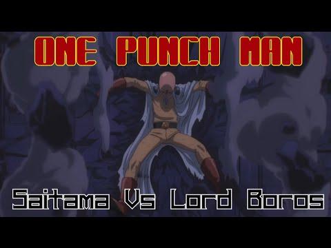 SAITAMA VS LORD BOROS (English FanDub) - Full Fight